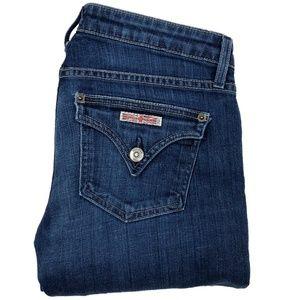 Hudson Flare Flap Pockets Jeans